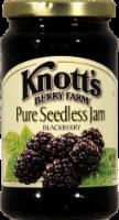 Knott's Berry Farm Pure Seedless Blackberry Jam - 16 oz