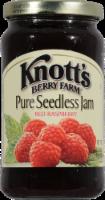 Knott's Berry Farm Pure Seedless Red Raspberry Jam - 16 oz