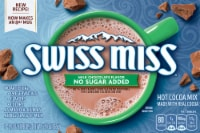 Swiss Miss No Sugar Added Milk Chocolate Flavor Hot Cocoa Mix 8 Count