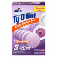 Ty-D-Bol Lavender Automatic Bowl Cleaner Tablets