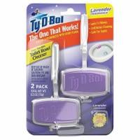 Ty-D-Bol  Lavender Scent Toilet Bowl Cleaner  0.5 oz. Gel - Case Of: 6; Each Pack Qty: 2; - Case of: 6