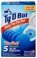 Ty-D-Bol Blue Tablets Toilet Bowl Cleaner