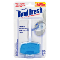 Bowl Fresh Pleasantly Scented Over the Rim Toilet Bowl Cleaner and Freshener Gel