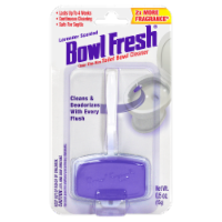 Bowl Fresh Lavender Scented Over the Rim Toilet Bowl Cleaner and Freshener Gel