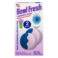 Bowl Fresh Lavender Scent Automatic Bowl Cleaner Tablets