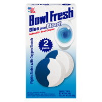 Bowl Fresh Blue Plus Bleach Automatic Bowl Cleaner Tablets