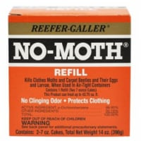 Reefer-Galler NO-MOTH Moth Balls 7 oz. - Case Of: 1; Each Pack Qty: 2; Total Items Qty: 2 - Count of: 1