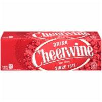 Cheerwine Legend Soft Drink - 12 cans /12 fl oz