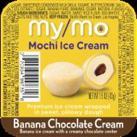 My/Mo Banana Chocolate Cream Mochi Ice Cream