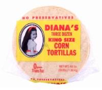 Diana's King Size Three Dozen Yellow Corn Tortillas