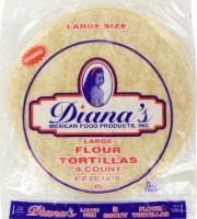 Diana's Large Flour Tortillas 8 Count