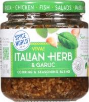 Spice World Viva Italian Herb & Garlic Seasoning Blend