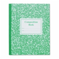 Roaring Springs 77920 Grade School Ruled Composition Book  9-3/4x7-3/4  WE/GN  50 Pages
