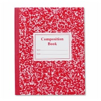 Roaring Springs 77922 Grade School Ruled Composition Book  9-3/4 x 7-3/4  WE/BE  50 Pgs