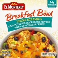 El Monterey Veggie Scramble Frozen Breakfast Bowl - 6 oz