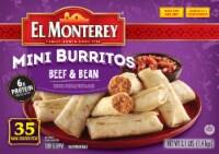 El Monterey Mini Beef & Bean Burritos