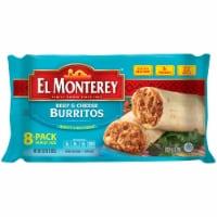 El Monterey Beef & Cheese Burritos 8 Count