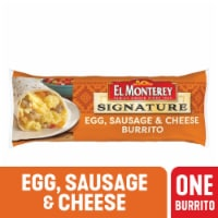 El Monterey Egg Sausage & Cheese Breakfast Burrito