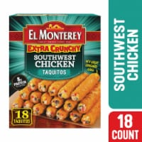 El Monterey Extra Crunchy Southwestern Chicken Taquitos