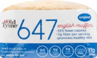 Old Tyme 647 Original English Muffins 6 Count - 12 oz