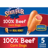 State Fair 100% Beef Corn Dogs 5 Count