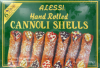 Alessi Hand Rolled Cannoli Shells