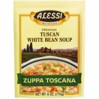Alessi Tuscan White Bean Soup - 6 oz