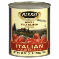 Alessi Peeled Italian Tomatoes with Basil