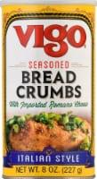 Vigo Italian Style Seasoned Bread Crumbs - 8 oz