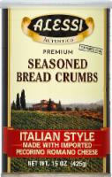 Alessi Italian Style Seasoned Bread Crumbs - 15 oz