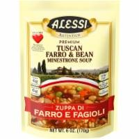 Alessi Tuscan Farro & Bean Minestrone Soup - 6 oz