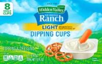 Hidden Valley Original Light Ranch Dip Cups