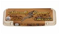 Natural Organic Large Brown Organic Eggs