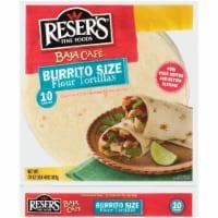 Resers Baja Cafe Burrito Size Flour Tortillas - 10 ct / 20 oz
