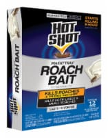 Hot Shot Max Attrax 0.84 Oz. Solid Roach Bait Station (12-Pack) HG-2030W