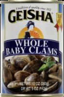 Geisha Whole Baby Clams