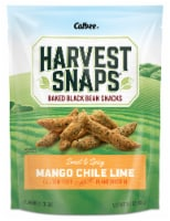 Harvest Snaps Mango Chile Lime Black Bean Snack Crisps