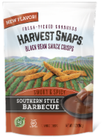 Harvest Snaps Southern Style Barbecue Black Bean Snack Crisps