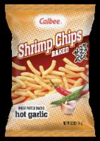 Calbee Baked Hot Garlic Shrimp Chips