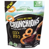 Harvest Snaps Crunchions Kick'n BBQ Red Lentil Snack Crisps