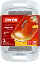 Pyrex® Easy Grab Covered Casserole Dish - 2 Quart