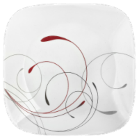 Corelle® Square Splendor Lunch Plate - White