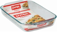 Pyrex Basics Oblong Baking Dish - 3 Quart - Clear
