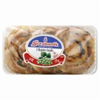 Svenhard's Swedish Bakery Raisin Snails - 6 Oz