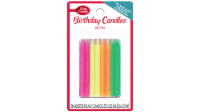 Betty Crocker Neon Candles