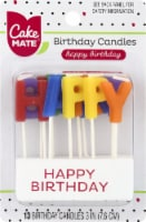 Cake Mate Happy Birthday Candles
