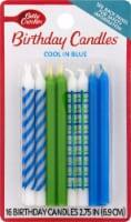 Betty Crocker Cool in Blue Candles