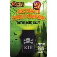 Pumpkin Masters Tombstone Light Decoration - 1 ct