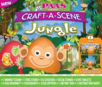 PAAS® Craft-A-Scene Jungle Egg Decorating Kit