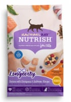 Rachael Ray Nutrish Longevity Chicken with Chickpeas and Salmon Receipe Cat Food